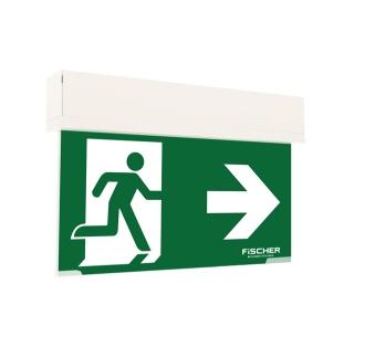 Rettungszeichenleuchte S4 LED-Design-Rettungszeichenleuchte