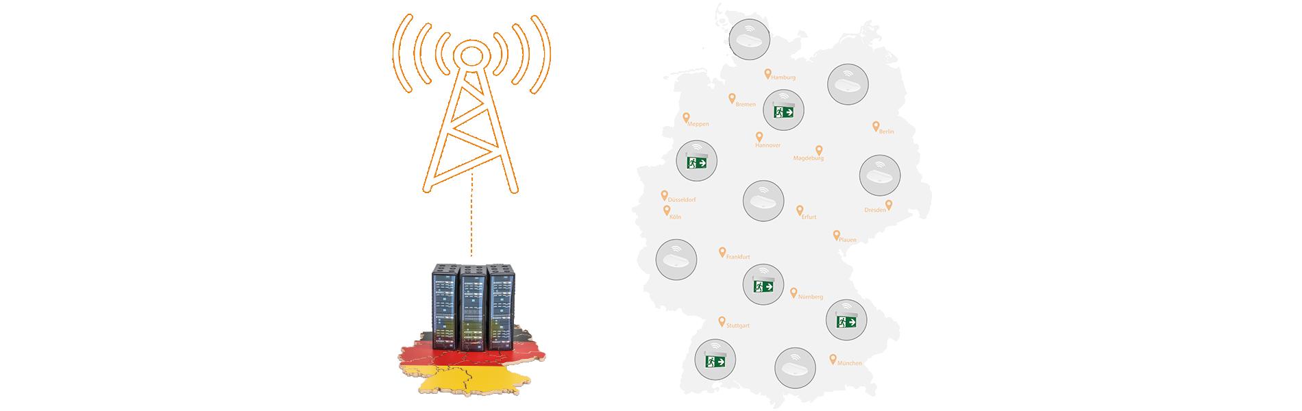 Rechenzentrum in Deutschland