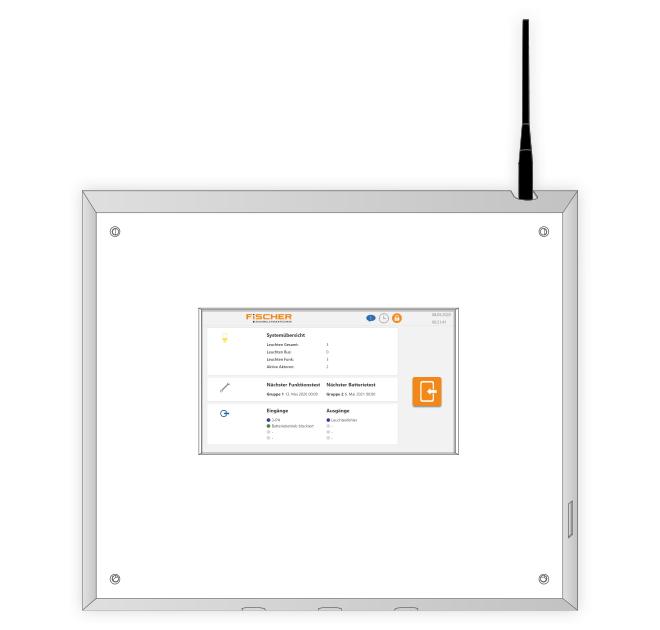 ECC3 Display, Not- und Sicherheitsbeleuchtung
