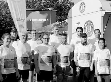 FiSCHER Runners beim Firmenlauf FIRMENPULS