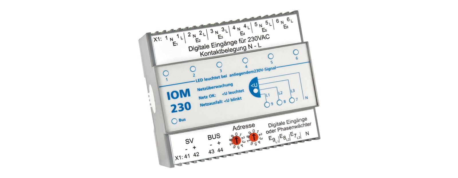 Notbeleuchtung Sensorikmodul-IOM230