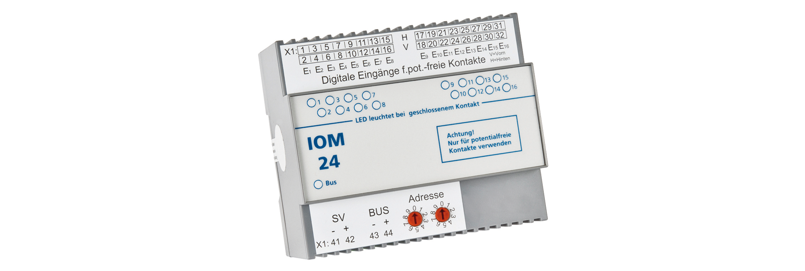 Notbeleuchtung Sensorikmodul-IOM24