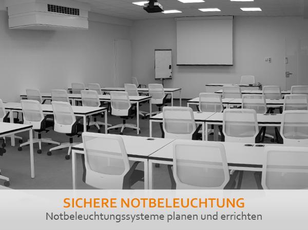 Workshops Not-und Sicherheitsbeleuchtung