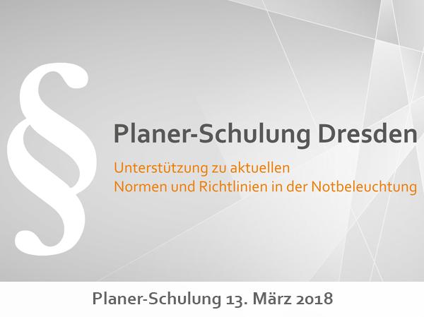 Planerschulung Dresden 2018