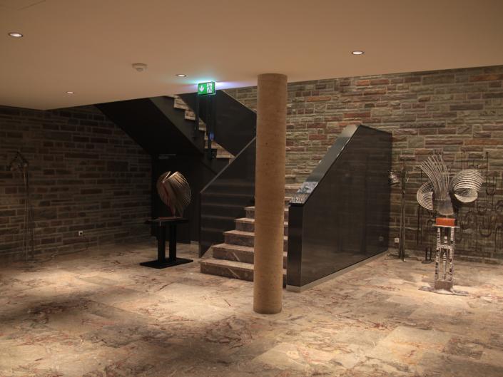 Referenz Notbeleuchtung Golf-Hotel Jakobsberg Treppenhaus 1