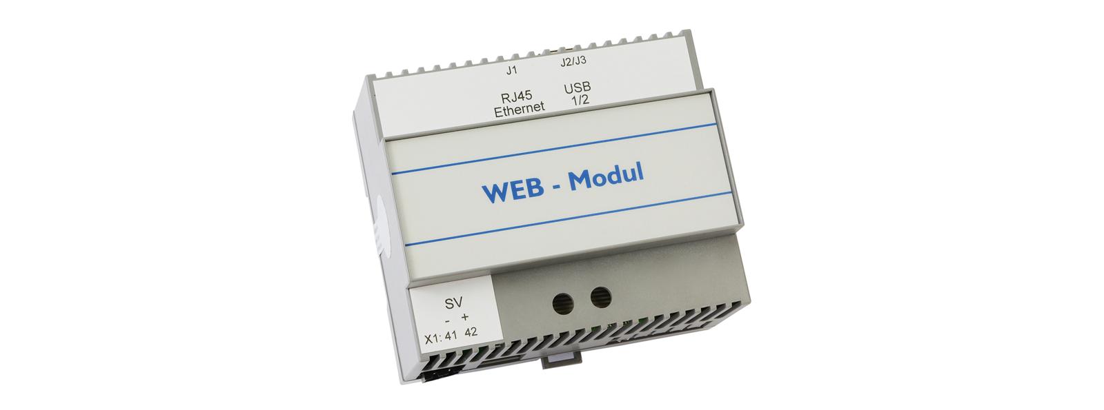 Notbeleuchtung Web-Modul