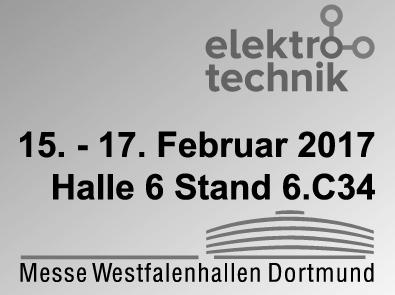 elektrotechnik 2017 Dortmund