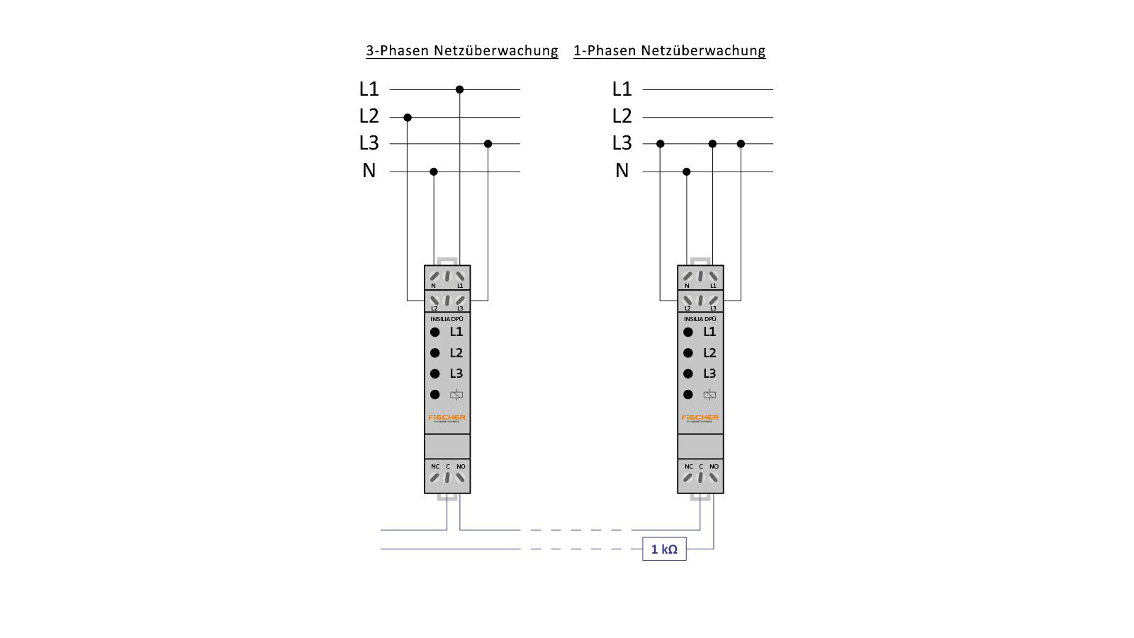x-Phasen-Netzüberwachung